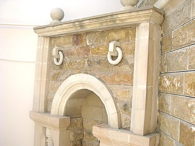 Архитектурные элементы и изделия из доломита