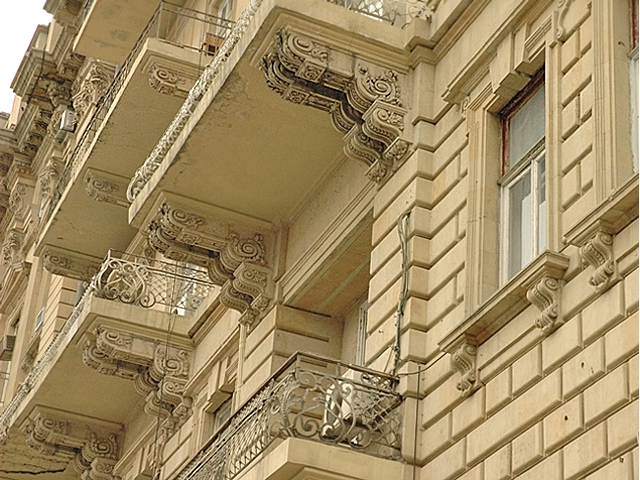 Фасад облицованный ракушечником