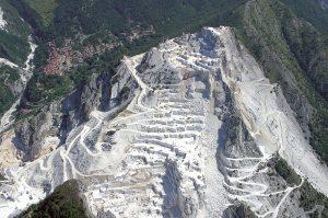 Карьер мрамора Bianco Gioia