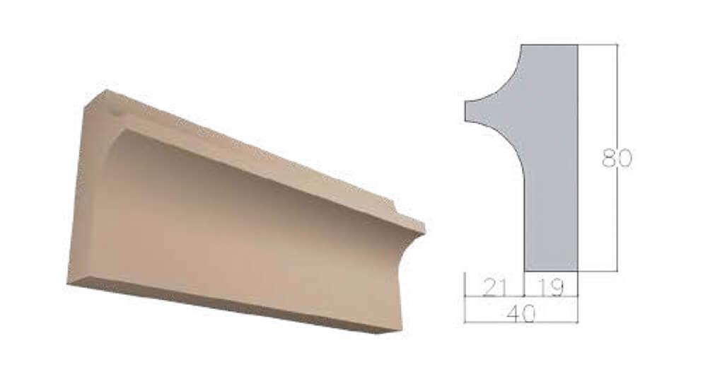 Карниз К-40