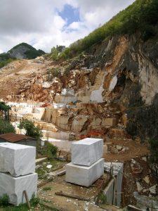 Карьер мрамора Bianco Carrara